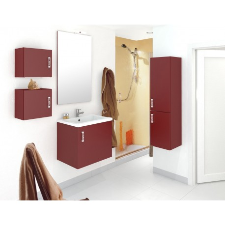 Salle de bain moderne 6 pièces couleur