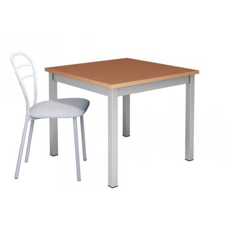 Table-de-cuisine-pied-central-metal