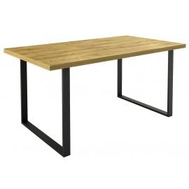 Table de cuisine fixe pieds en U