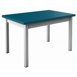 Table de cuisine pieds metal