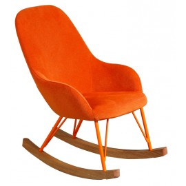 Rocing chair enfant orange