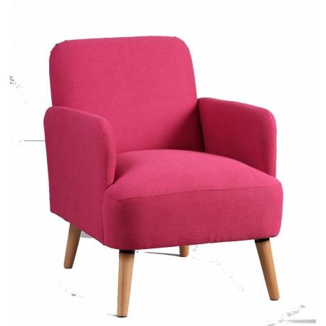 Petit fauteuil Rose