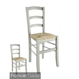 Chaises de cuisine gris perle