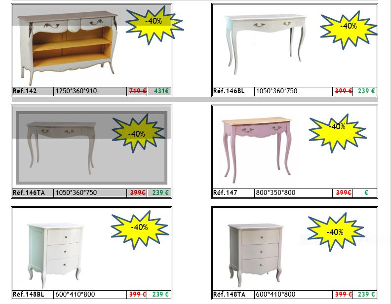 Petit meubles petit prix