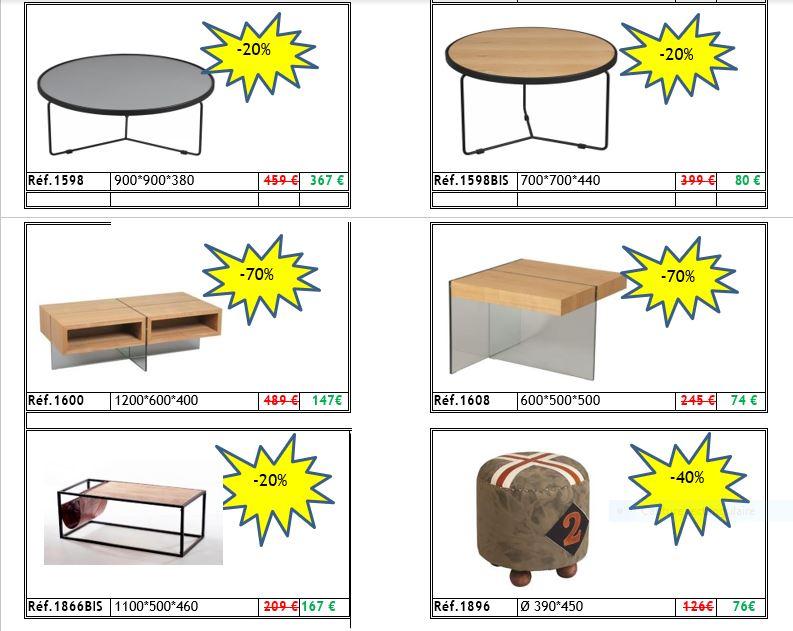 Petit meubles en promo